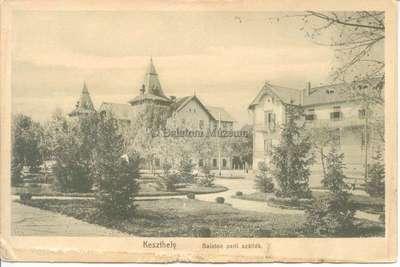 Keszthely, Balaton parti szállók