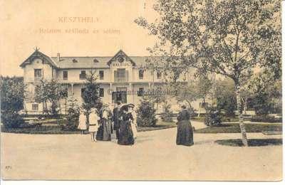 Balaton szálloda és sétány