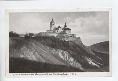 Schloß Forchtenstein am Rosaliengebirge, Burgenland