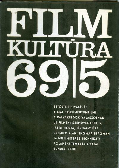 Filmkultúra 1969/5. szám