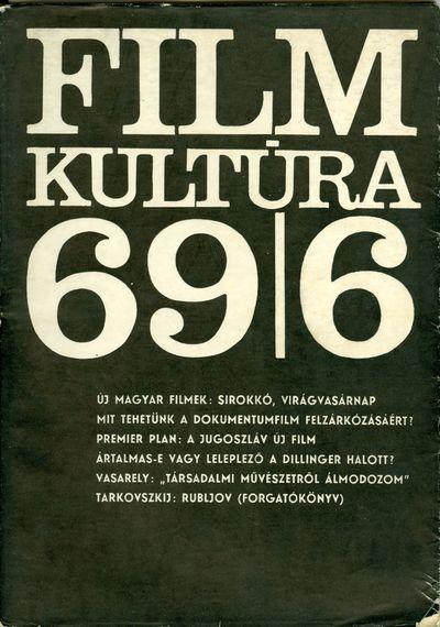 Filmkultúra 1969/6. szám