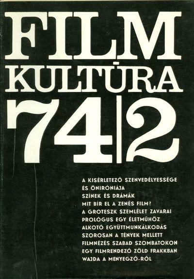 Filmkultúra 1974/2. szám