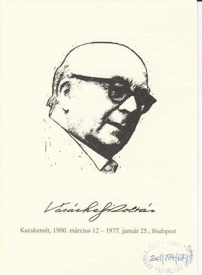Vásárhelyi Zoltán emlékünnepség