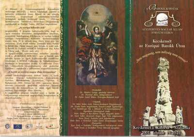 Barokk korszak programfüzet