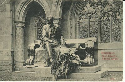Gróf Károlyi Sándor szobor