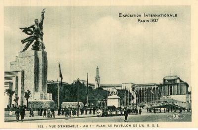 Párizsi Világkiállítás Szovjet pavilonja1937.