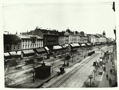 Aradi városkép