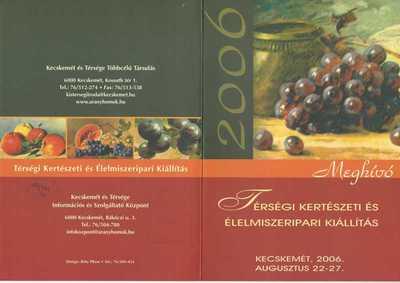 Térségi Kertészeti és Élelmiszeripari Kiállítás