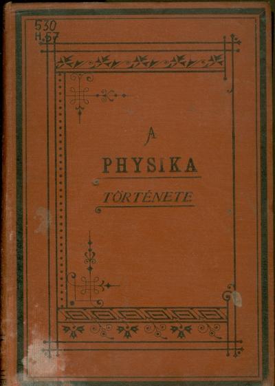 A Physika története a XIX. században