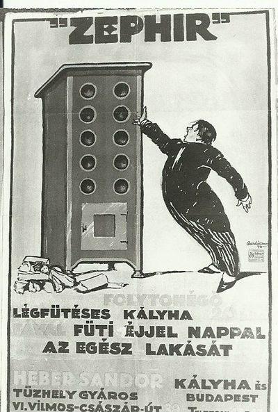 ZEPHIR Kályha