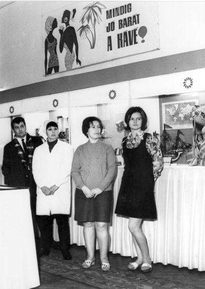 Egykori MKVM kiállítás Ózd 1971.
