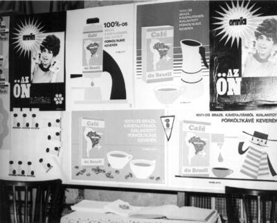 Egykori MKVM kiállítás Tatabánya 1972.