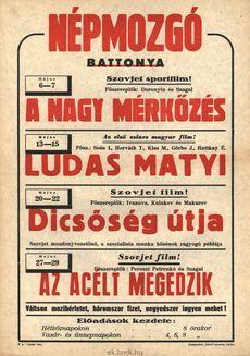 Népmozgó programjai 1949. május 6-29-ig
