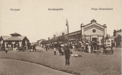 Focșani, Moldauplatz