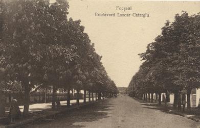 Focșani, Boulevard Lescar Catargiu