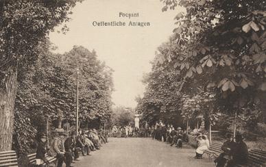 Focșani, Oeffentliche Anlagen