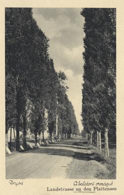Fonyód, Balatoni országút