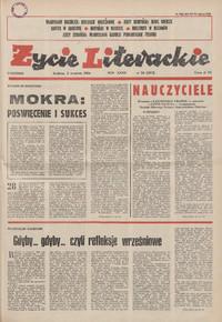 Życie Literackie. 1984, nr 36 (2 IX) = nr 1693
