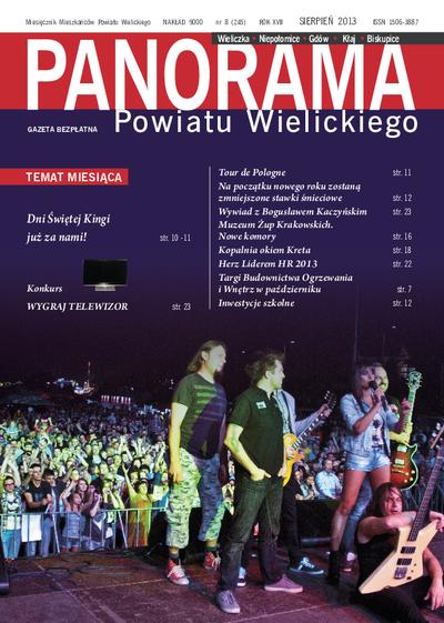 Panorama Powiatu Wielickiego. 2013, nr 8 (sierpień) = nr 246