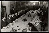 Sopar ofert a la premsa amb motiu del cinquantenari del Palau de la Música