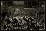 Sopar de cloenda del cinquantenari del Palau de la Música: aspecte general de la sala