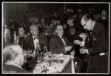 Sopar de cloenda del cinquantenari del Palau de la Música: detall dels comensal