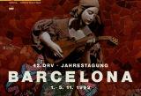 42. DRV, Jahrestagung, Barcelona, 1.-5.11.1992, Catalonia
