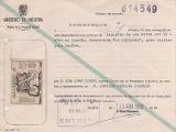 Sol·licitud al Ministeri d'Indústria.Registre de la Propietat Industrial, per registrar durant 20 anys a Espanya la marca La Leridana, 23 d'abril de 1970.