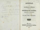 Sociedad de Socorros Mútuos denominada Sociedad de Sastres, establecida en Barcelona bajo la invocación de Santa Maria Magdalena