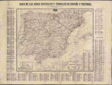 Mapa de las aguas minerales y termales de España y Portugal