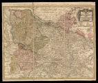 Charte über den nördlichen theil der Chur und Fürstlichen Braunschweigis chen Lande : die Herzogthümer Bremen u. Sachsenlauenburg, die Fürstenthümer Lüneburg u. Verden ...