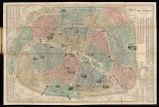 Nouveau plan illustré de la ville de Paris : indiquant les chagements, les vois projetées et en cours d'éxécution.