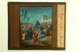 Il·lustració de l'entrada de Jesús a Jerusalem