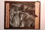 Fotografia de l'escultura Group America de l'Art Gallery de Nova York