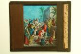 Il·lustració de Jesús amb els petits infants