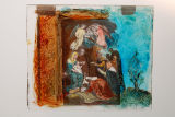 Il·lustració de l'Ofrena dels Reis mags a Jesús