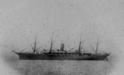 Vapor ALFONSO XIII ( 1 ) , de la Cia Trasatlantica , navegant