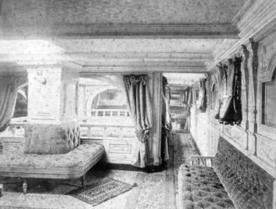 Saló del vapor ALFONSO XII 2 , de la Cia Trasatlàntica