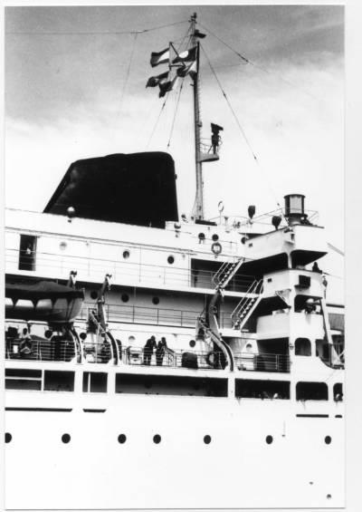 Motonau MONTSERRAT (2) de la Cia Trasatlantica