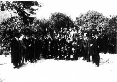 Grup treballadors de la Compañia Trasatlantica