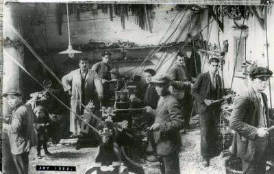 Torneria de fusta de Josep Tarrés a Anglès