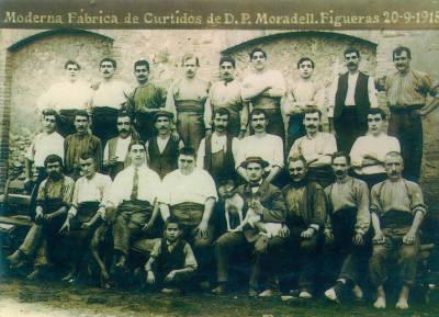 Moderna Fábrica de Encurtidos de D.P. Moradell. Figueras 20-09-1915