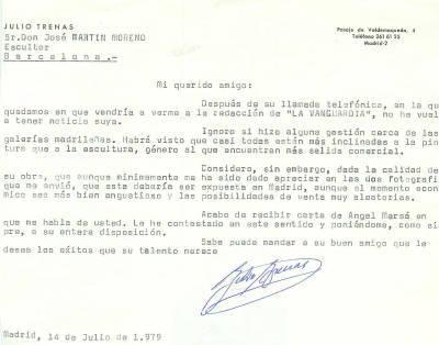 J.Martín - Carta recomanació crític Julio Trenas