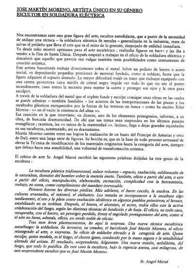 J.Martín - Crítica sr. Àngel Marsà -
