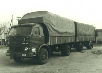 Camió de l'empresa Padrosa amb matrícula GE-5139