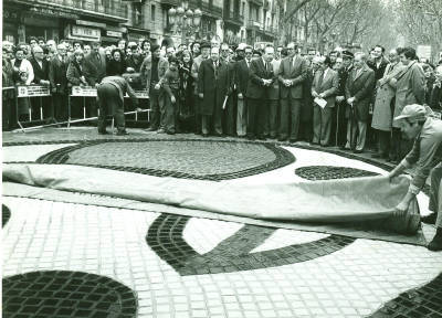 Miró Rambles - Inauguració