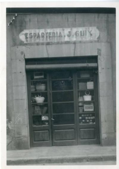 Façana Esparteria Jaume Guix de Ripoll