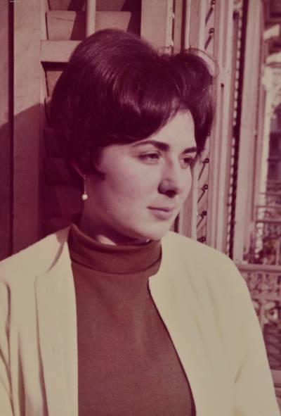 Retrat primer pla de Leonora Milà