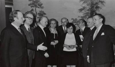 Retrats dels membres del jurat de la XVIl edició del Concurs Maria Canals
