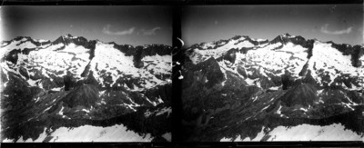 Cresta de Llosás, Benasc amb neu